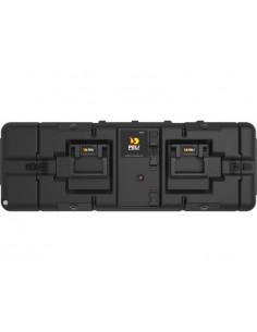 Maleta HPRC 2500C negra con espuma